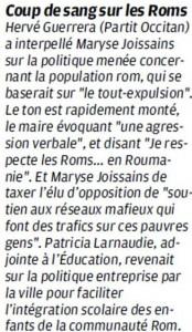 Débat houleux sur les Roms  roms1-174x300